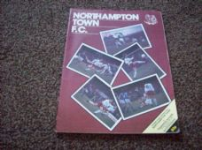 Northampton Town v Tranmere Rovers, 1981/82